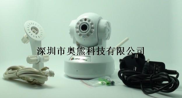 室内无线网络红外监控摄像头